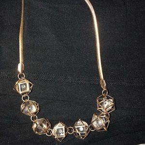 Faux gold necklace !